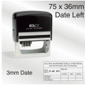 Colop P60 Dater-Date Left