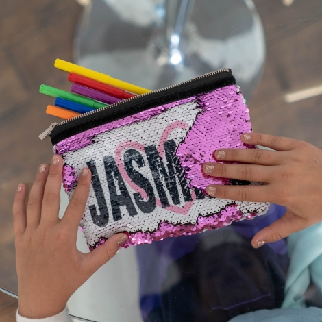 Personalised Sequin Bag from Giveagift.co.uk