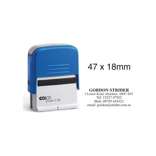 Colop Printer 30 - Custom Rubber Stamp